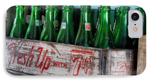 Old 7 Up Bottles IPhone Case by Thomas Woolworth