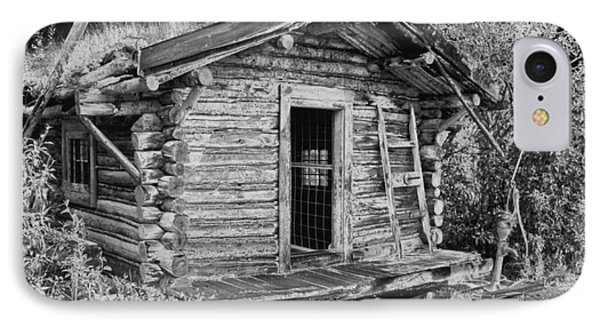 Old Abandoned Cabin IPhone Case by Tlynn Brentnall