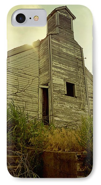 Old Abandoned Country  School Phone Case by Ann Powell