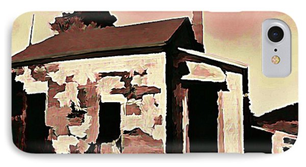 Old Abandoned House In Cape Breton Phone Case by John Malone
