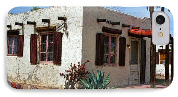 Old Adobe Cottage Phone Case by Brian Lambert