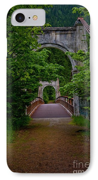 IPhone Case featuring the photograph Old Alexandra Bridge by Rod Wiens