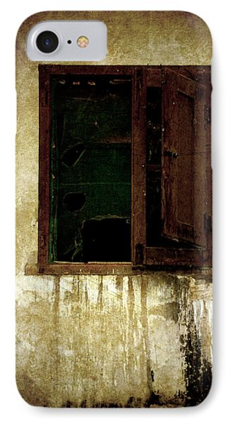 Old And Decrepit Window Phone Case by RicardMN Photography