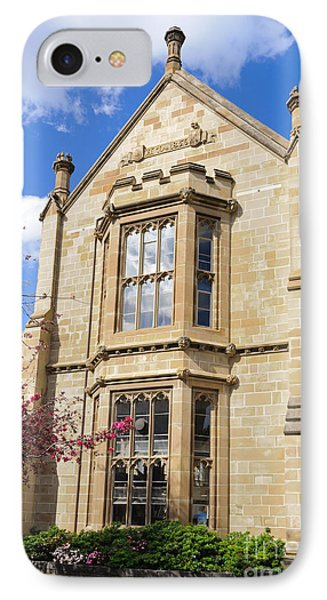Old Arts Building - Melbourne University - Australia - Academic Tudor - Jacobethan Style Building IPhone Case