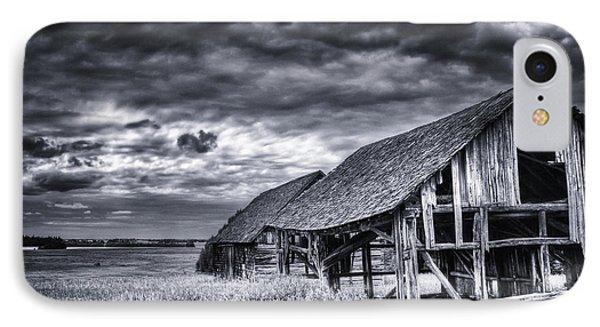 Old Barn IPhone Case by Ian MacDonald