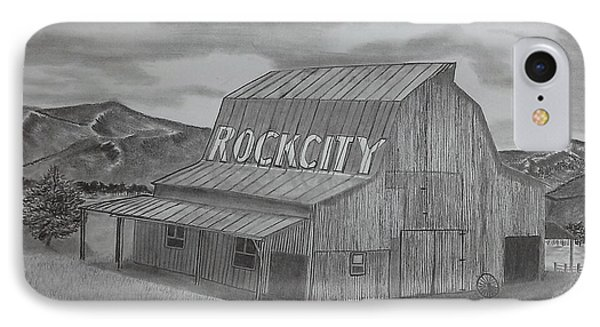 Old Barn II IPhone Case by Tony Clark