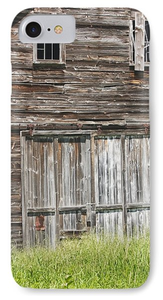 Old Barn In Maine IPhone Case by Keith Webber Jr