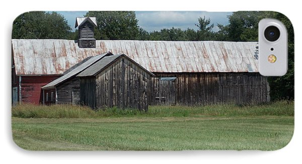 Old Barn In Vermont IPhone Case by Catherine Gagne