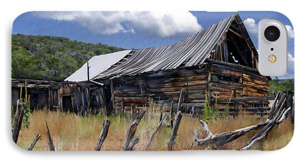 Old Barn Las Trampas New Mexico IPhone Case by Kurt Van Wagner