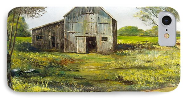 Old Barn Phone Case by Lee Piper