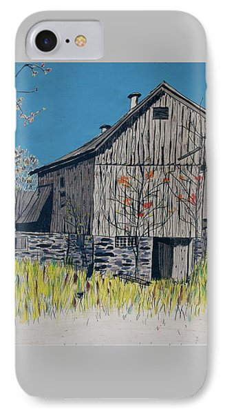 Old Barn IPhone Case by Linda Simon