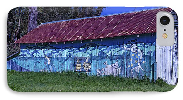 Old Barn Mural IPhone Case