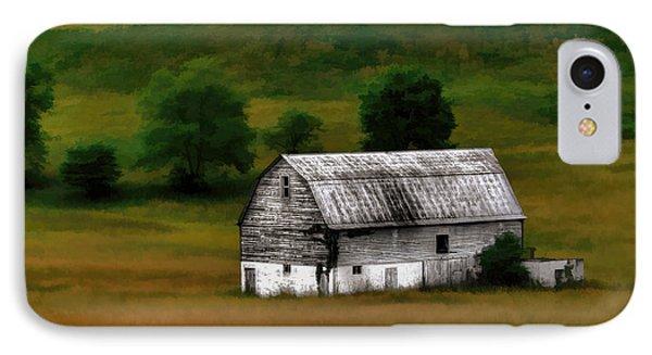 Old Barn Near Buckhannon IPhone Case by Dan Friend
