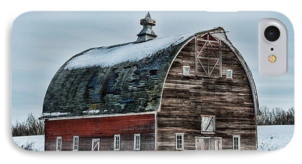 Old Barn Needs Paint IPhone Case by Paul Freidlund