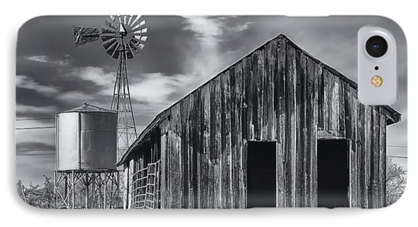 Old Barn No Wind IPhone Case by Mark Myhaver