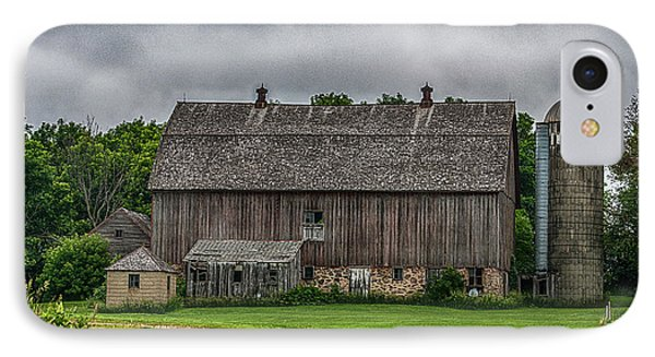 Old Barn On A Stormy Day Phone Case by Paul Freidlund