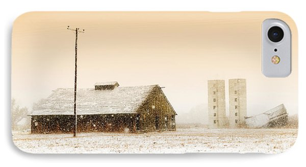 Old Barn On Highway 6 IPhone Case