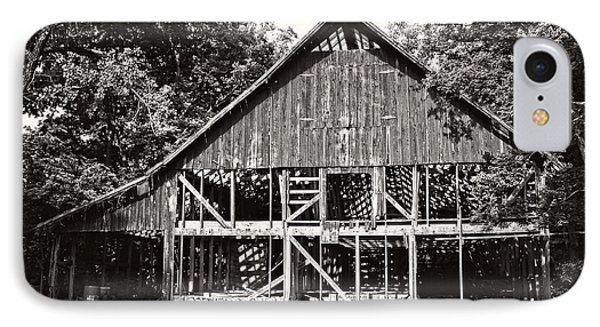 Old Barn On Hwy 161 IPhone Case by KayeCee Spain