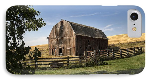 Old Barn On The Palouse IPhone Case