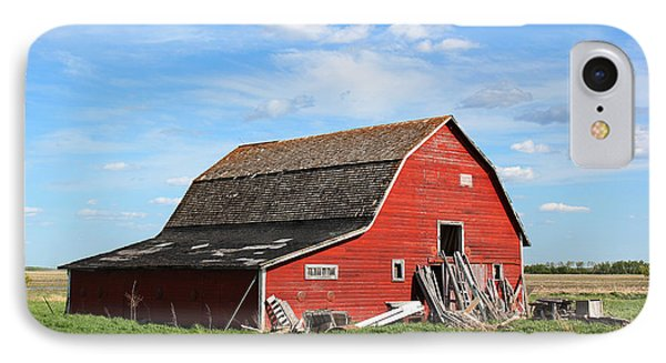 IPhone Case featuring the photograph Old Barn by Ryan Crouse