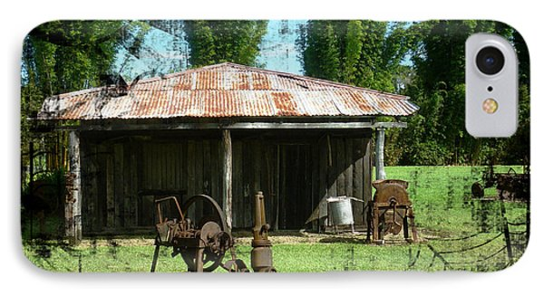 IPhone Case featuring the photograph Old Barn by Therese Alcorn