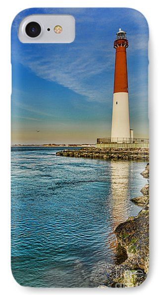 IPhone Case featuring the photograph Old Barney At Sunrise - Barnegat Lighthouse by Lee Dos Santos