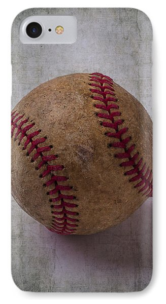 Old Baseball IPhone Case by Garry Gay