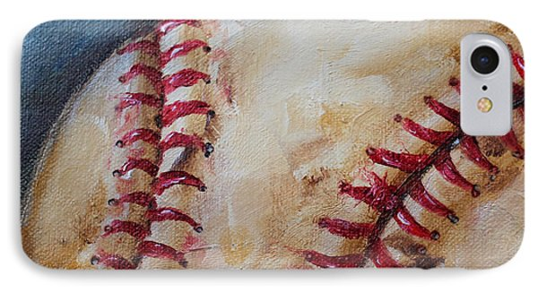 Old Baseball Phone Case by Kristine Kainer