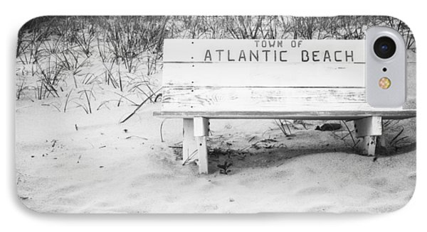 Old Beach Bench IPhone Case by Bob Decker