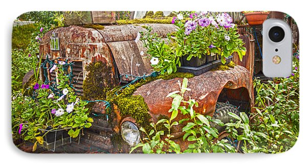 Old Truck Betsy IPhone Case by Mike Reid