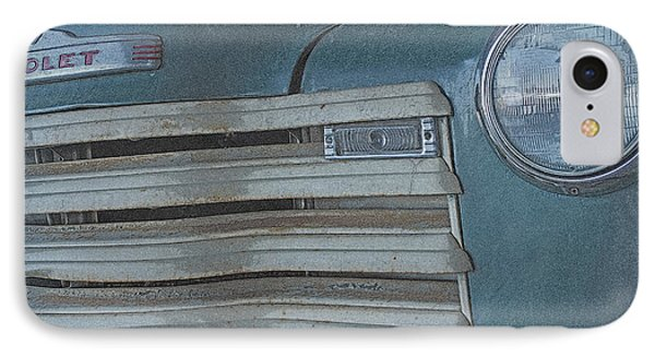 Old Blue IPhone Case by Lynn Sprowl