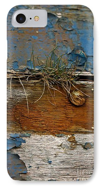IPhone Case featuring the photograph Old Boat - Peeling Paint by Liz  Alderdice