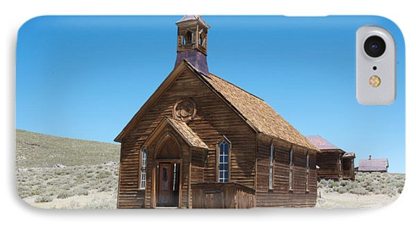 IPhone Case featuring the photograph Old Bodie Church by Vinnie Oakes