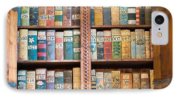 Old Books In Prague Phone Case by Matthias Hauser