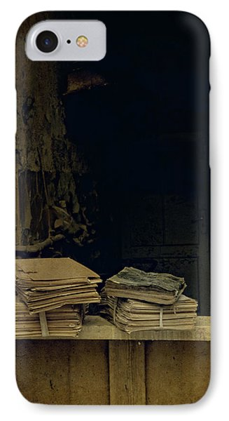 Old Books IPhone Case by Jaroslaw Blaminsky