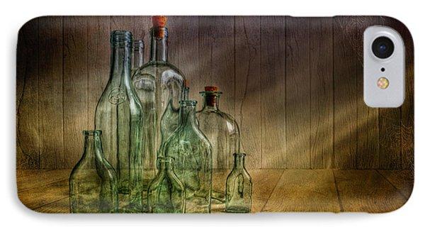 Old Bottles IPhone Case by Veikko Suikkanen