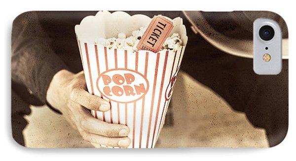 Old Box Of Retro Popcorn IPhone Case