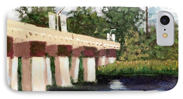 Old Bridge Street Bridge IPhone Case by Jim Phillips