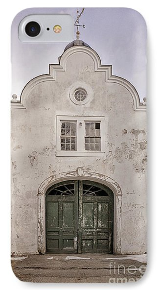 Old Building From The Guilded Age With Weathervane IPhone Case by Edward Fielding