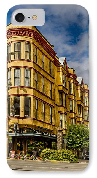 Old Building On So. Broadway Tacoma Wa IPhone Case by Rob Green