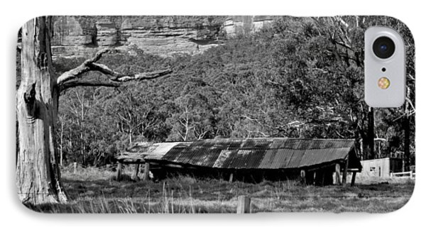 Old Bush Shed IPhone Case by Marty  Cobcroft