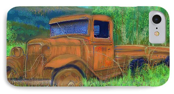 Old Canadian Truck IPhone Case