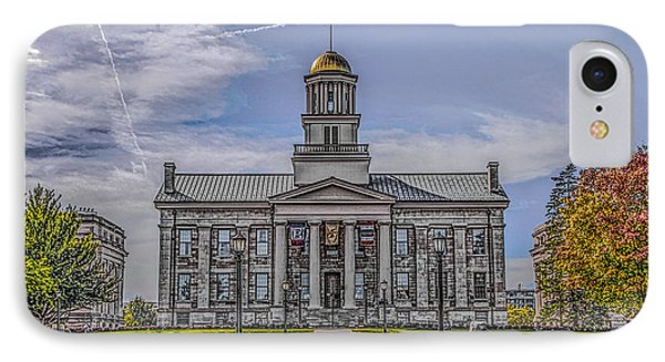 Old Capitol IPhone Case by Ray Congrove