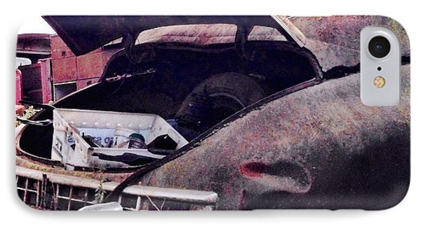 Old Car IPhone Case by Julie Gebhardt