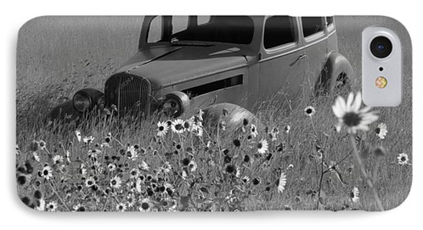 IPhone Case featuring the photograph Old Car by Leticia Latocki