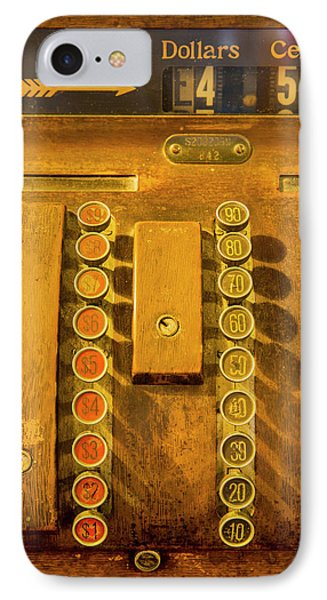 Old Cash Register Decor At The Historic IPhone Case by Chuck Haney