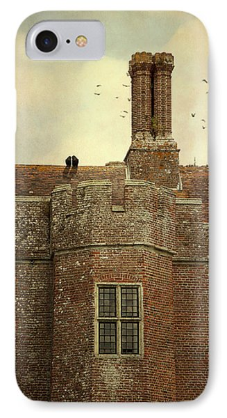 IPhone Case featuring the photograph Old Castle Rooftop England by Ethiriel  Photography