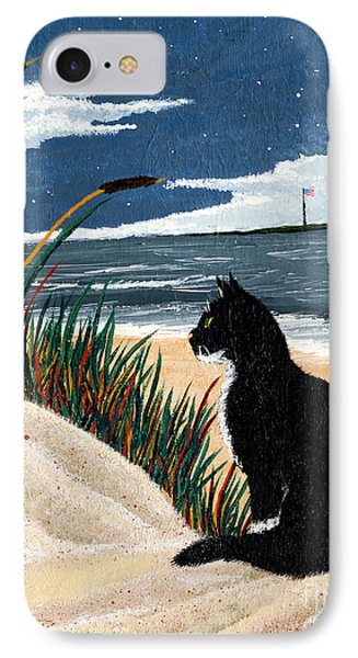 Old Cat And The Sea Phone Case by Edward Fuller