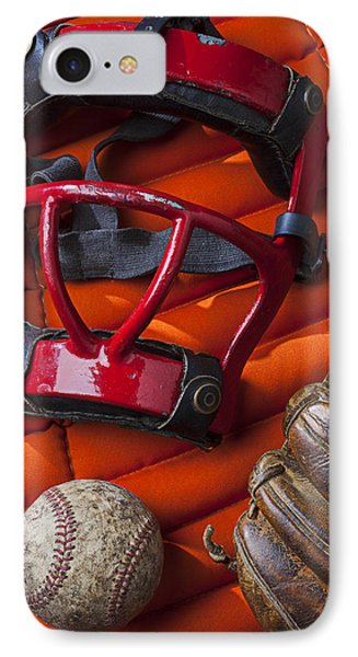 Old Catcher Mask IPhone Case