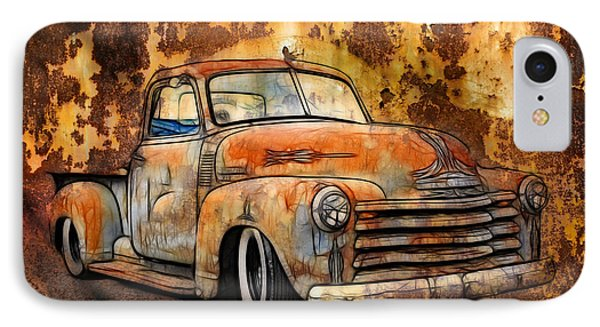 Old Chevy Rust IPhone Case by Steve McKinzie
